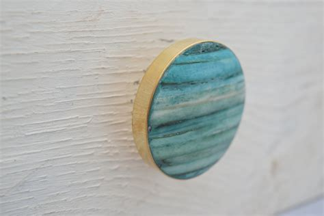 Teal Knobs by Gold Drawer Knobs With Teal Inlay Gold Drawer Pulls