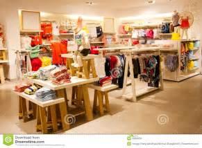 children s clothing store stock photo image of center