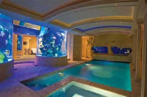 cool indoor pools here is your aquarium idea gilbert on either side of the