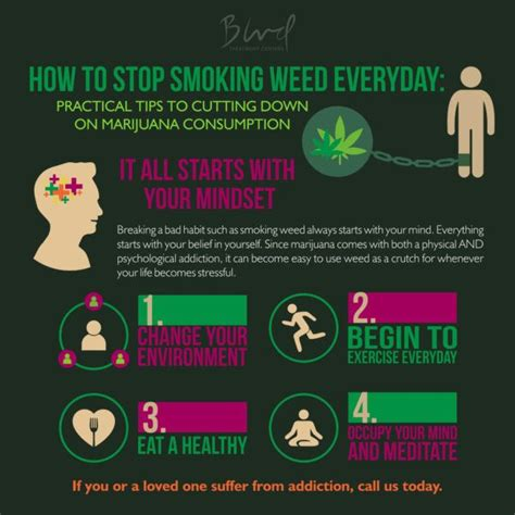 Smoke Thc Everyday How To Detox by How To Stop Everyday Infographic Small When