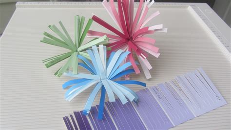 Glaze Paper Craft - paint sle craft how to make finge paper flower tutorial