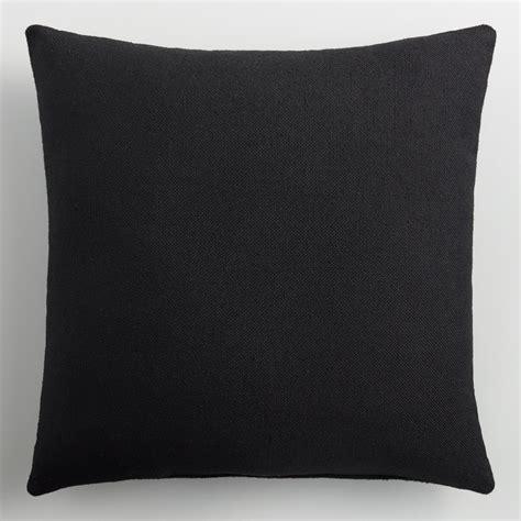Black Outdoor Throw Pillows by Black Indoor Outdoor Throw Pillow World Market