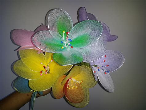 homemade flowers crafts flower making at home