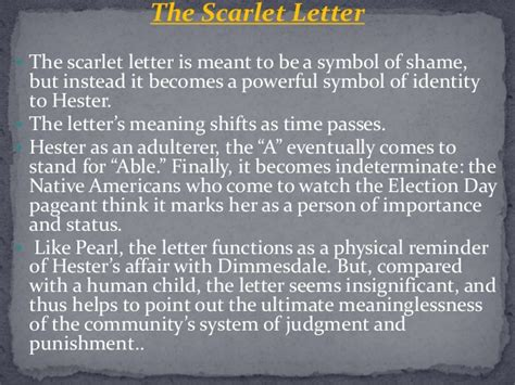 4 major themes of the scarlet letter what does the forest path symbolize in scarlet letter