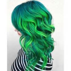 cool colored hair best 25 green hair colors ideas on turquoise