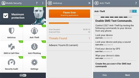 Eset Mobile Security For Android License Key 1tahun 1device eset mobile security antivirus premium for android