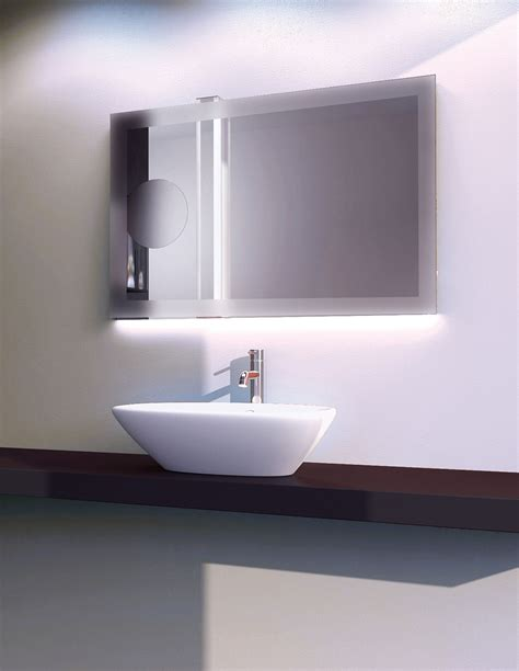 Back Lighted Bathroom Mirrors Fancy Led Mirrors For Lighted Mirror Bathroom Vanity Trends Including Back Images Marvellous