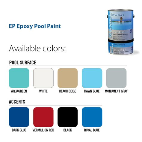 ep epoxy swimming pool paint george townsend co inc