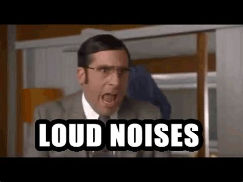 Loud Noises Meme - actual picture of me trying to write this post as my