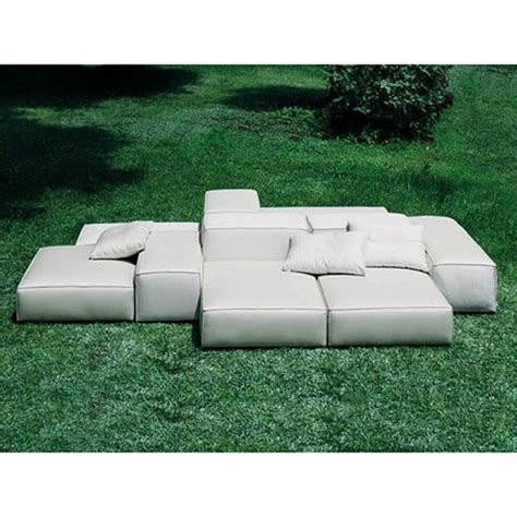 Extrasoft Modular Sofa Outdoor West Out East Outdoor Modular Furniture