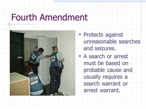 Search Warrant Amendment The Amendments How Do The Amendments To The Constitution Show The Development Of