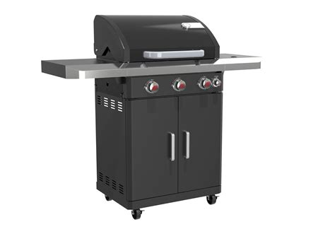 barbecue landmann landmann rexon pts 3 1 3 burner gas bbq landmann barbecues bbq accessories the