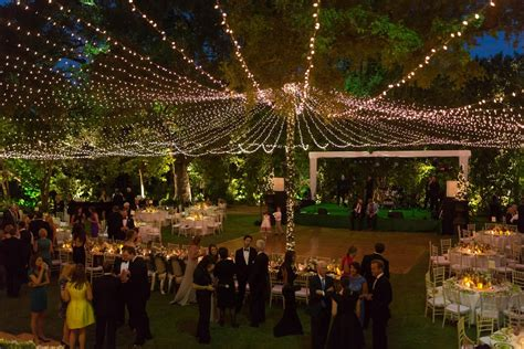 Photo Of The Day Bridalguide Outdoor Wedding Lights