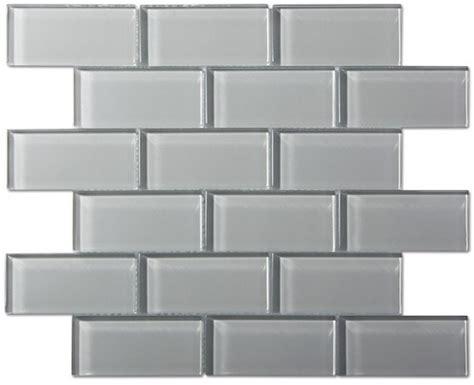 2x4 glass tile backsplash 9 95sf free shipping smoke gray glass 2x4 subway tile