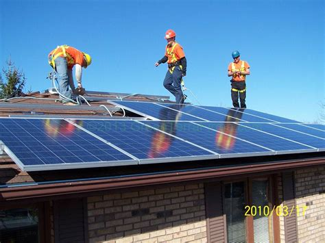 solar panels install solar panel installation