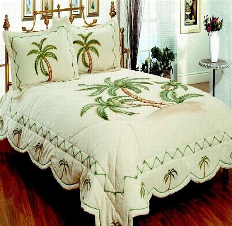 Palm Tree Bedding Sets Bedroom Bedding 3pcs Quilt Set Palm Tree Palm Tree Decor Pinterest