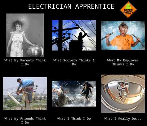 Electrician Memes - 12 best images about construction safety memes on pinterest theater end of and boss