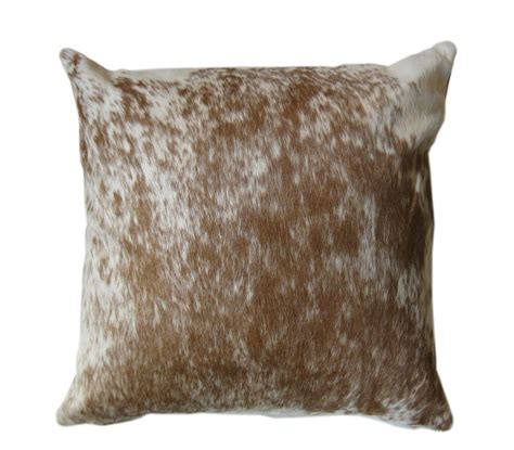 Cowhide Pillow - cowhide leather pillows ebay