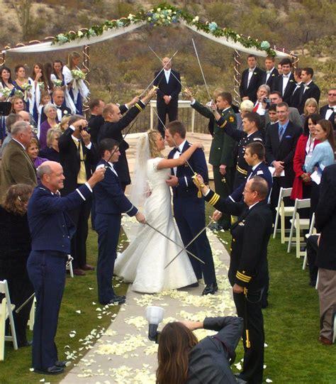 wedding arch of swords arch of swords sabers ceremony my tucson wedding