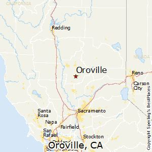 best places to live in oroville california