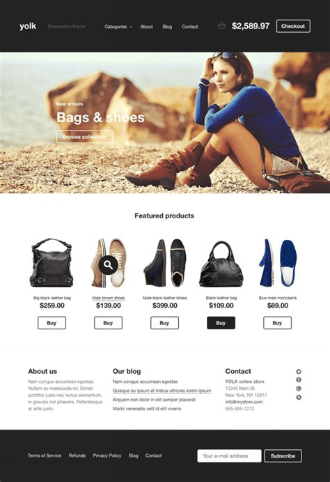 homepage design rules 4 ecommerce website design trends to rule in 2015 designhill