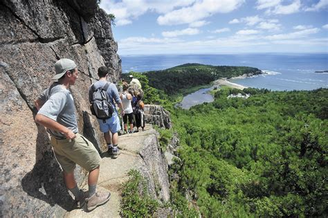 Rangers issue citations for Acadia National Park closure order violations   Central Maine