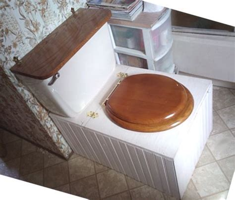 diy compost toilet this composting toilet idea is great the tank on the back