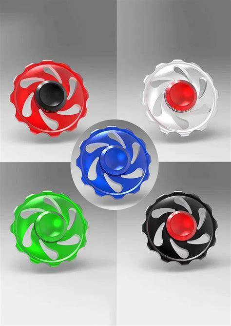 Spiner Random wheel finger fidget spinner random color fairyseason