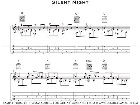 Silent Night Guitar Chords Easy