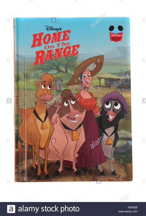 home on the range a hardback book by disney home on the range stock photo