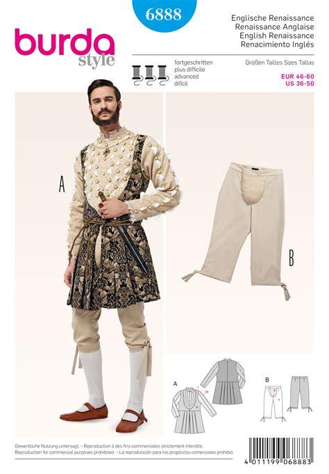 patterns sewing costumes burda 6888 costumes