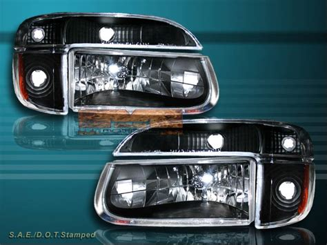 Sa Lu Blk Ford Laser Taxi 1998 2001 ford explorer black headlights corner lights blk smoke lights ebay