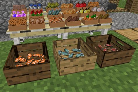 mod game market decoration mega pack mod for minecraft 1 11 2 1 9 1 8 9