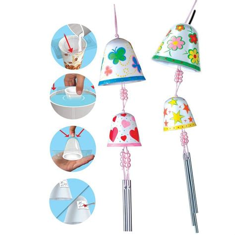 wind chime craft for make wind chime bells craft kit educational toys