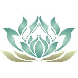 Lotus Flower Template Free Flower Stencil Clipart Best