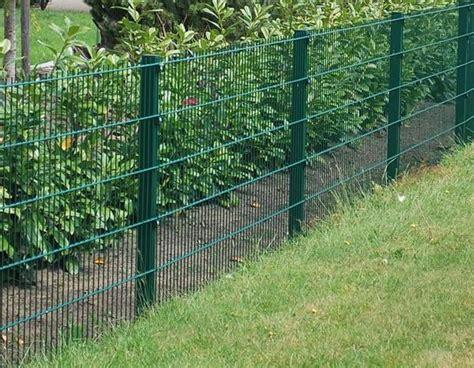 Terrasse 1m Hoch zaun doppelstabmattenzaun 1m hoch moosgr 252 n in b 246 sel