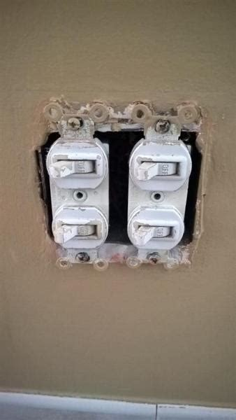 replacing switches   function bath exhaustheater