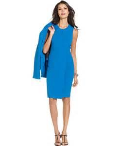 kasper sleeveless sheath dress dresses women macy s