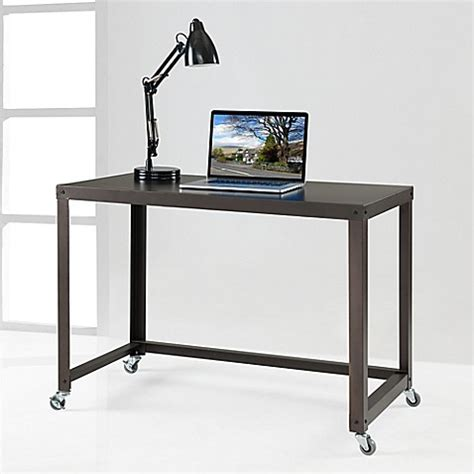 bed bath and beyond desk durable flat metal desk bed bath beyond