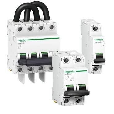 Mcb 1p 2a Ic60n disjoncteur miniature disjoncteur c60h dc schneider