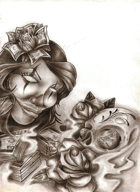 chicano tattoos designs chicano by ibraink on deviantart