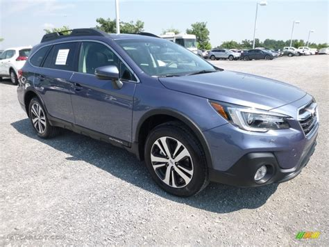 blue subaru outback 2018 twilight blue metallic subaru outback 2 5i limited