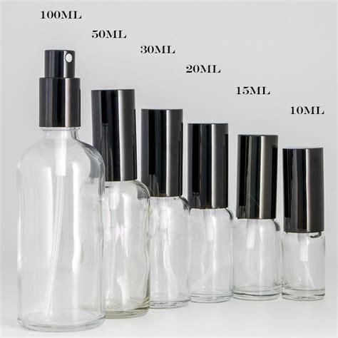 30ml Plastic Spray Perfume Bottle 2019 10ml 15ml 30ml 50ml 100ml clear glass spray bottles