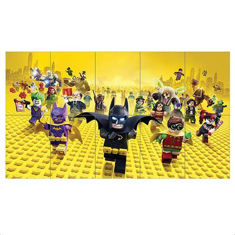 printable lego wall art 2017 the lego batman movie block giant wall art poster