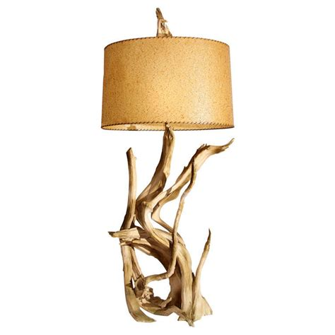 Driftwood Home Decor Iconic Driftwood Table Lamp At 1stdibs