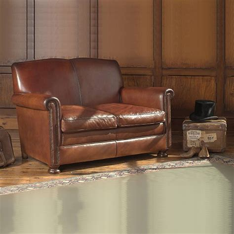Leather Sofa Small by Charles Small Leather Sofa