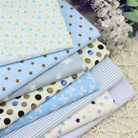 Childrens Patchwork Bedding - twill 8 pcs cotton fabric for diy patchwork sewing