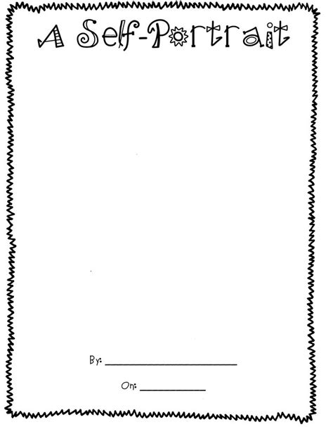 Self Portrait Worksheet Free Worksheets Library Download And Print Worksheets Free On Self Portrait Template