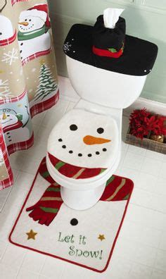 snowman bathroom set bath room idea on pinterest toilet paper bathroom sets