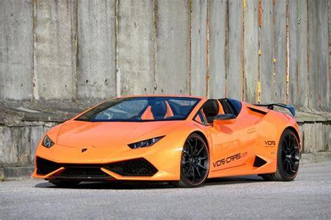 Lamborghini Performance Upgrades Vos Performance Tweaks Lamborghini Huracan Spyder